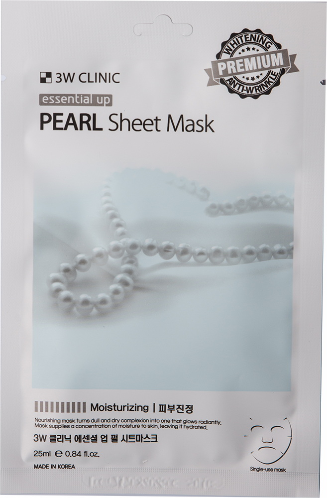 Маска для лица - Essential Up Pearl Sheet Mask