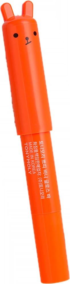 Увлажняющая помада-бальзам для губ неоновый оранжевый Тони Моли —Tony Moly PETITE BUNNY GLOSS BAR 07