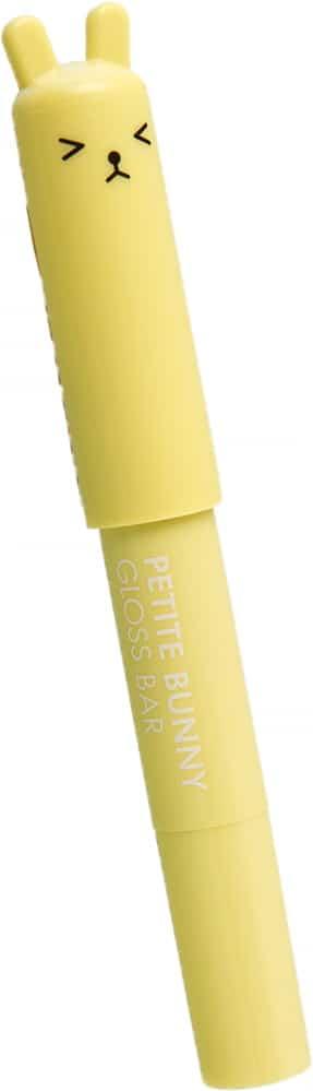 Увлажняющая помада-бальзам для губ неоновый желтый Тони Моли —TonyMoly PETITE BUNNY GLOSS BAR 08 NEO