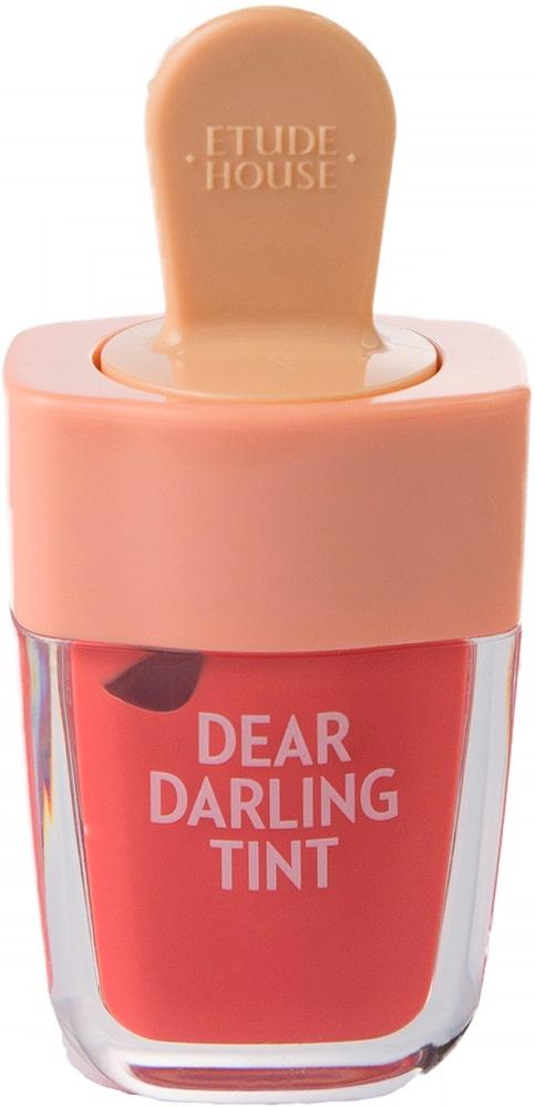 Тинт для губ - Dear darling water gel tint ice cream (OR205) Apricot Red [Etude House]