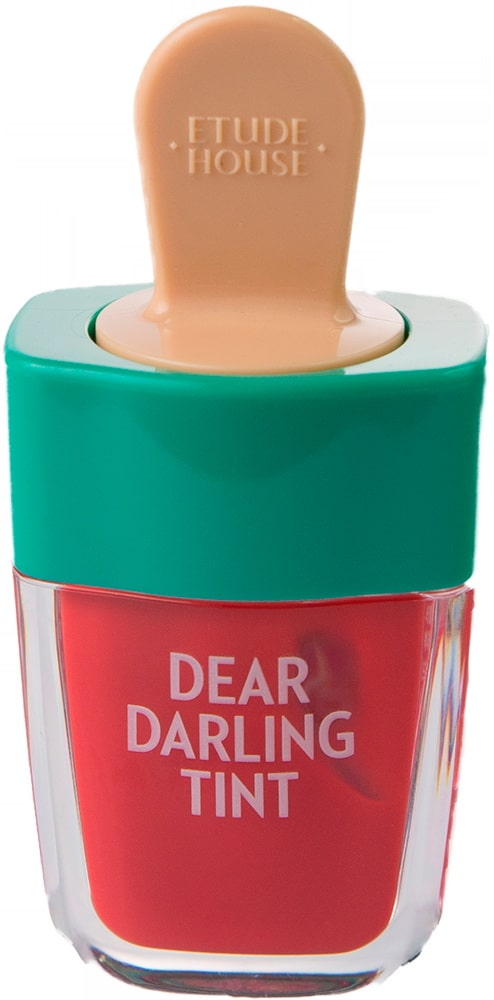 Тинт для губ - Dear darling water gel tint ice cream (RD307) Watermelon Red [Etude House]