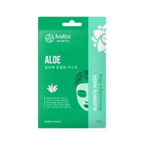 Маска альгинатная с экстрактом алое - Aloe alginate mask, 25г. AsiaKiss