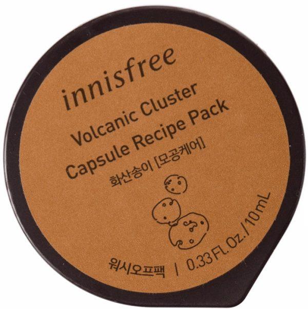 Капсульная смываемая маска для лица с вулканической золой - Capsule Pack #Volcanic