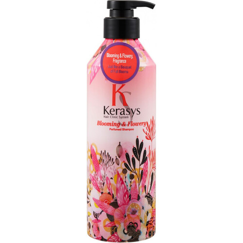 Шампунь парфюмированный «флер» - Blooming&flowery parfumed, 600мл. KeraSys