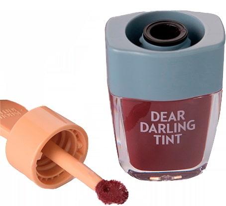 Тинт для губ - Dear darling water gel tint ice cream (RD306) Shark Red [Etude House]