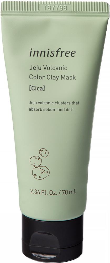 Регенерирующая маска с экстрактом центеллы с вулканической золой Инисфри - INNISFREE Jeju Volcanic C