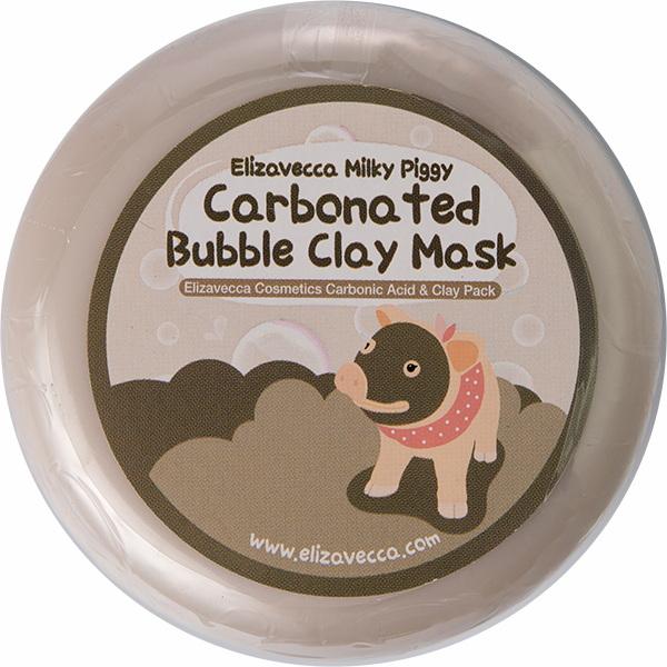 Пузырьковая глиняная маска для лица Елизавекка - ELIZAVECCA Milky Piggy Carbonated Bubble Clay Mask