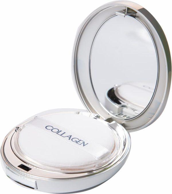 Пудра для лица - Collagen 3in1 twoway cake #21 [Enough]