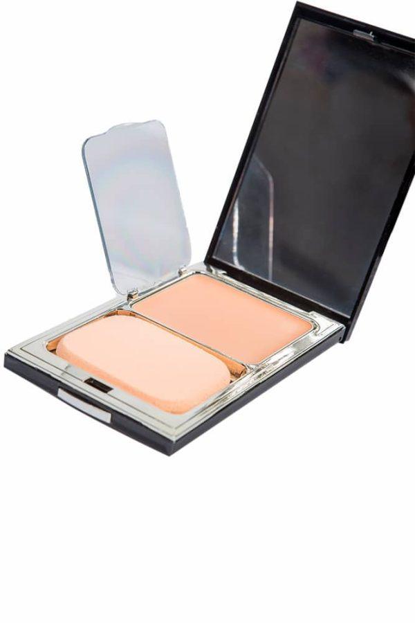 Крем-пудра для лица - Rose quartz Fixing Skin cover #21 [3W Clinic]