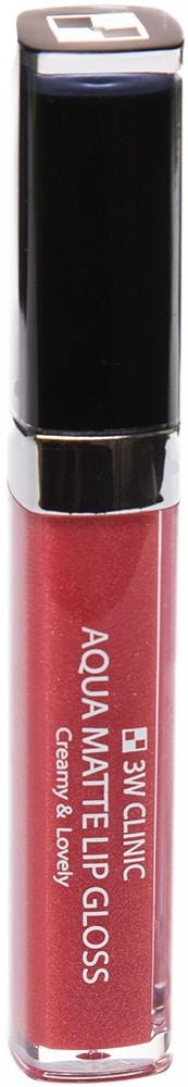 Блеск для губ - Aqua Matte Lip gloss #Shine Rich [3W Clinic]