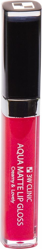 Блеск для губ - Aqua Matte Lip gloss #Mystic Rose [3W Clinic]