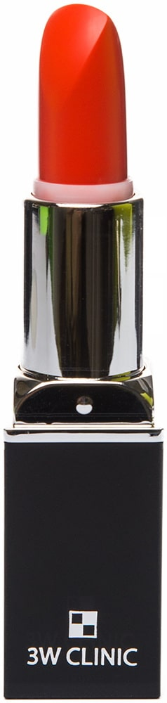 Помада для губ - Aqua Matte Lip Stick #09 Naked Orange [3W Clinic]
