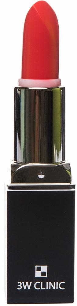 Помада для губ - Aqua Matte Lip Stick #05 Orange Pepper [3W Clinic]