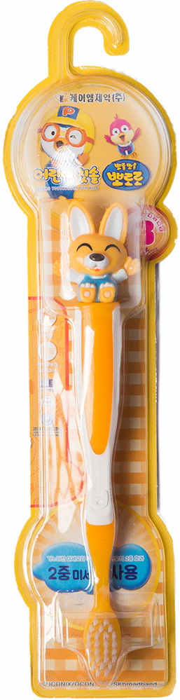 Детская зубная щётка - Эдди Пороро —Pororo Tooth Brush Eddy