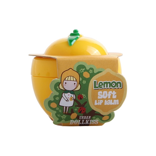 Лимонный мягкий бальзам для губ Бавифат —BAVIPHAT Urban Dollkiss Lemon Soft Lip Balm
