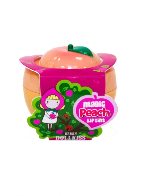 Тинт для губ персик Бавифат —BAVIPHAT Urban Dollkiss Peach Magic Lip Tint