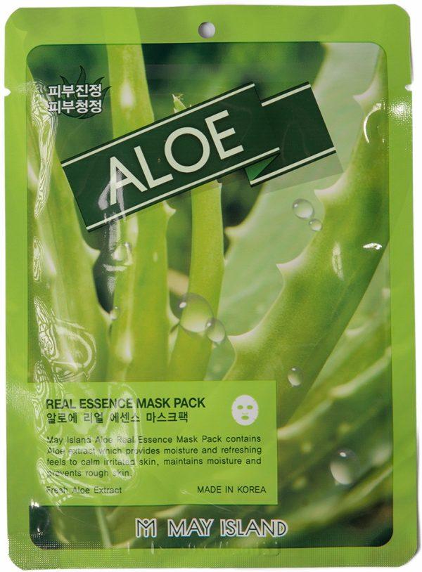 Real Essence Aloe Mask Pack – маска с алоэ успокаивает и увлажняет