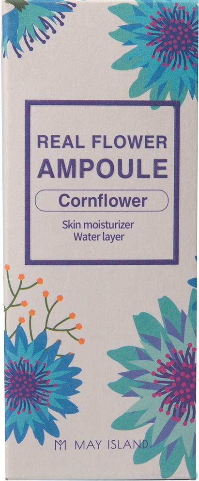Real flower ampule #Cornflower [MAY ISLAND](10 шт)